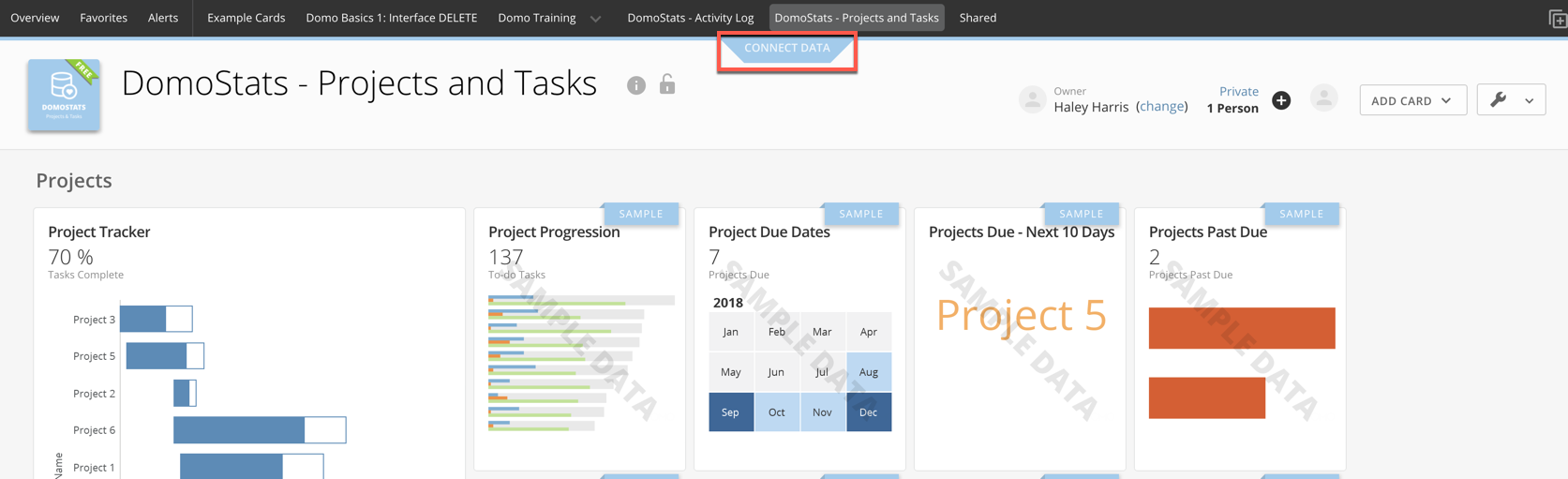DomoStats - Project and Tasks - Connect Data.png
